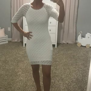 White little dress